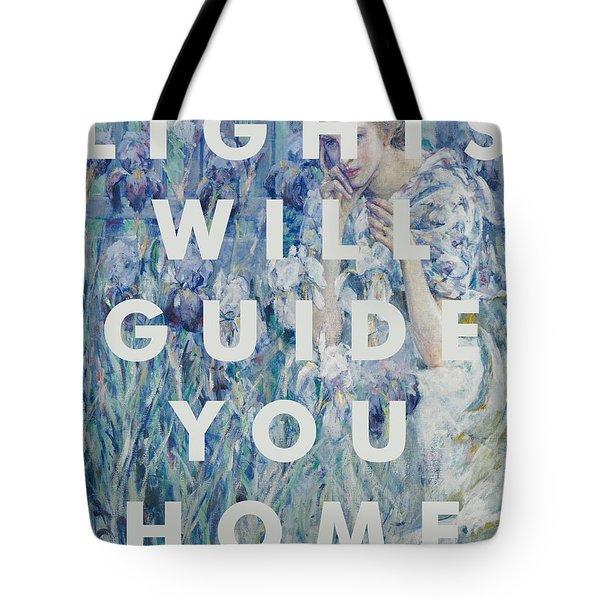 Coldplay Lyrics Print Tote Bag
