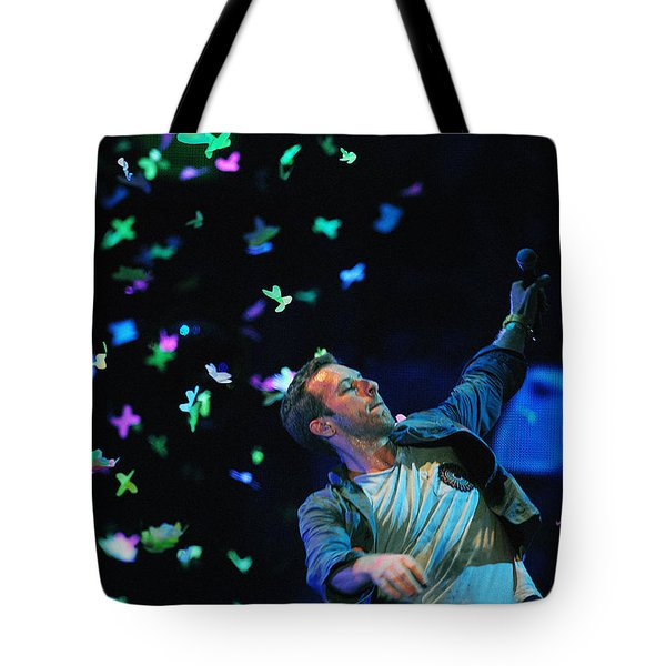 Coldplay1 Tote Bag by Rafa Rivas