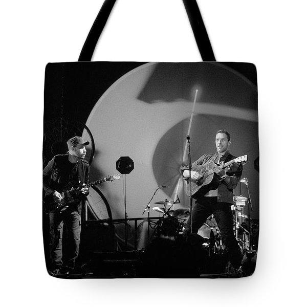 Coldplay12 Tote Bag by Rafa Rivas