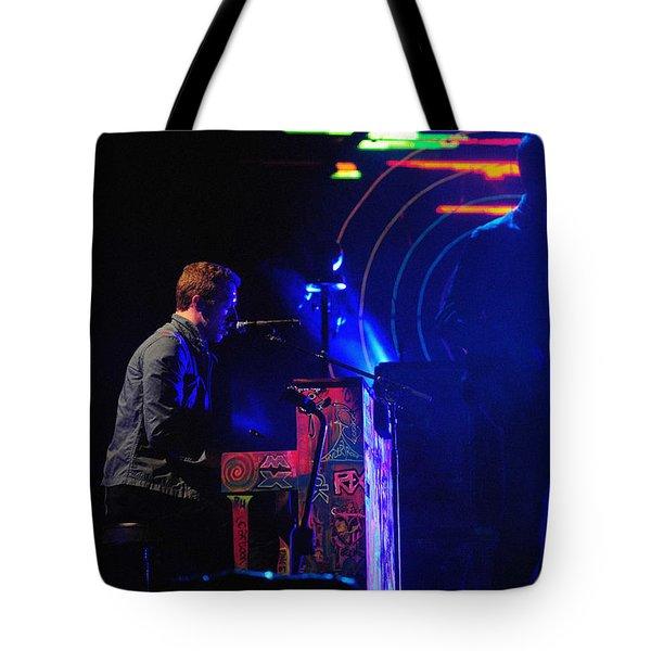 Coldplay2 Tote Bag by Rafa Rivas
