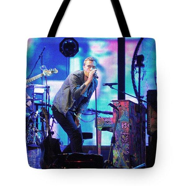 Coldplay7 Tote Bag by Rafa Rivas