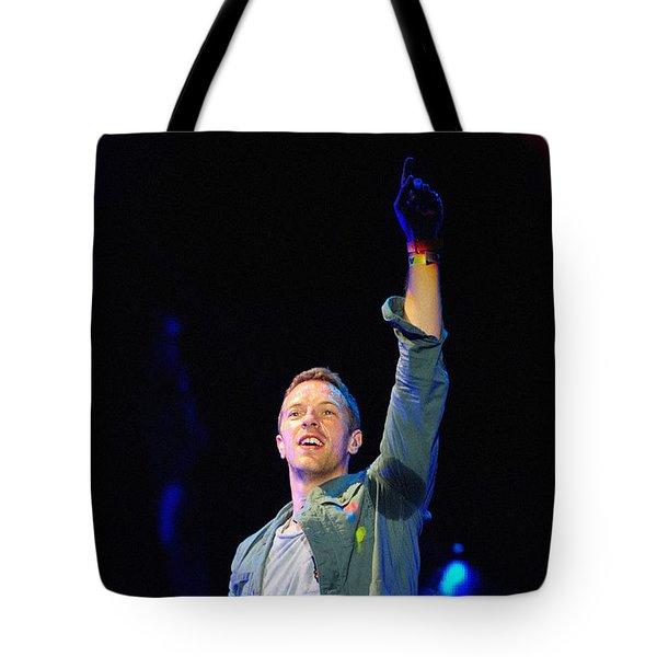 Coldplay8 Tote Bag by Rafa Rivas