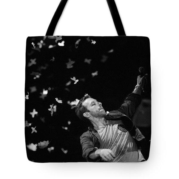 Coldplay 9 Tote Bag