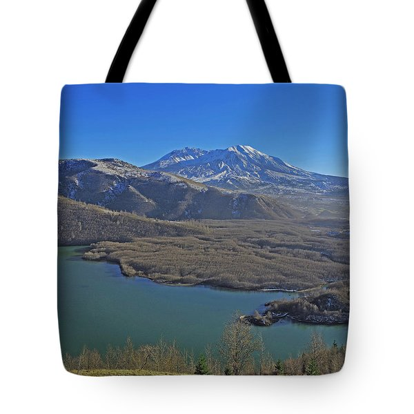 Coldwater Lake Tote Bag