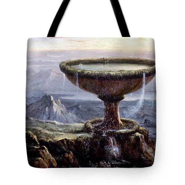 Cole: Titans Goblet, 1833 Tote Bag by Granger