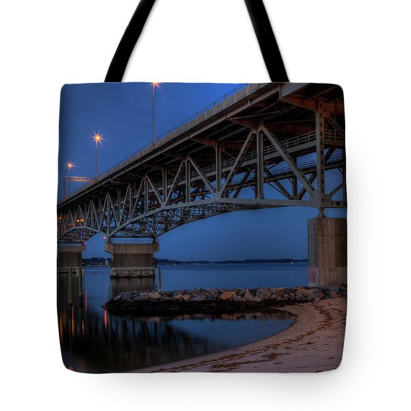 Coleman Bridge Tote Bag
