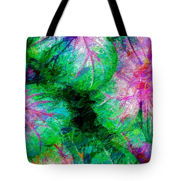 Tote Bag featuring the photograph Coleus by Paul Wear