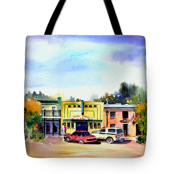 Colfax Main And Church Street Tote Bag