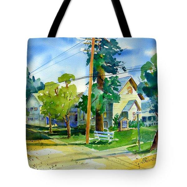 Colfax Methodist Church Tote Bag