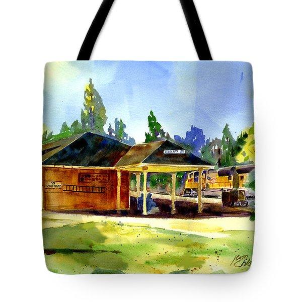 Colfax Rr Depot Tote Bag