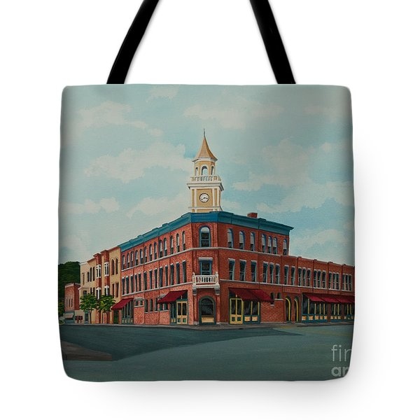 Colgate Bookstore Tote Bag by Charlotte Blanchard
