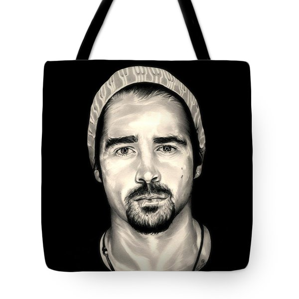 Colin Farrell  Total Recall Tote Bag by Fred Larucci