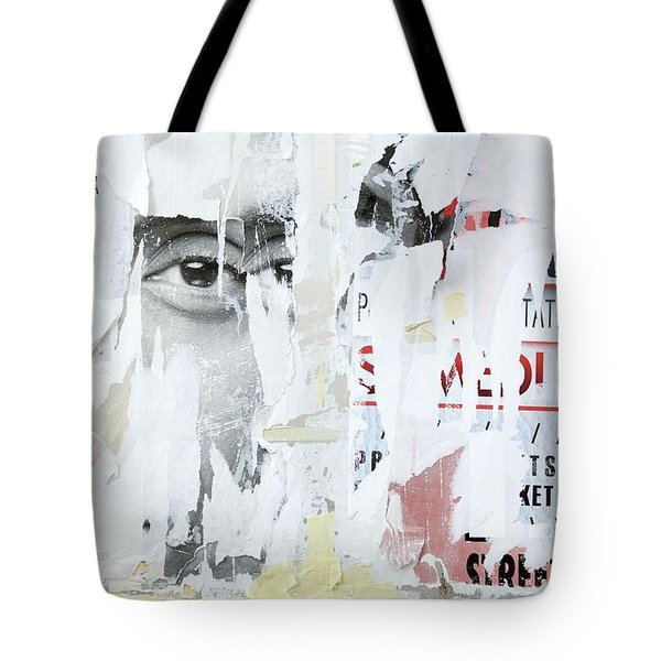 Street Collage 1 Tote Bag by Colleen Williams
