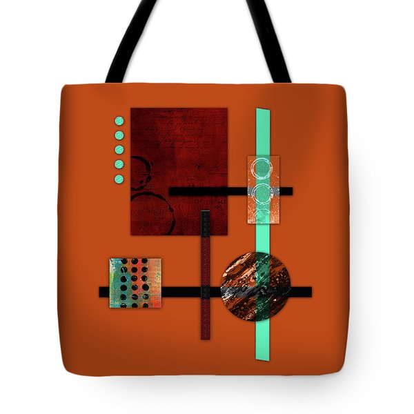 Collage Abstract 10 Tote Bag by Patricia Lintner