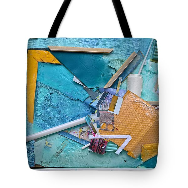 Collage Abstract #51317 Tote Bag