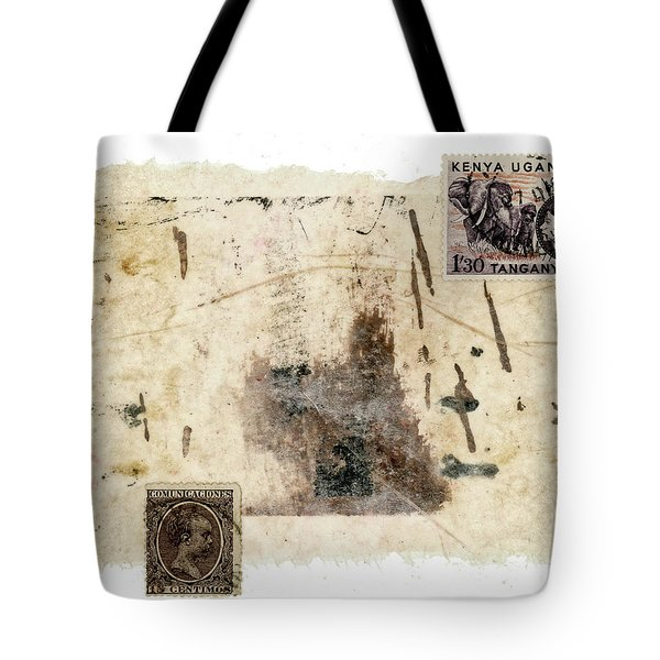 Collage In Shades Of Brown Tote Bag