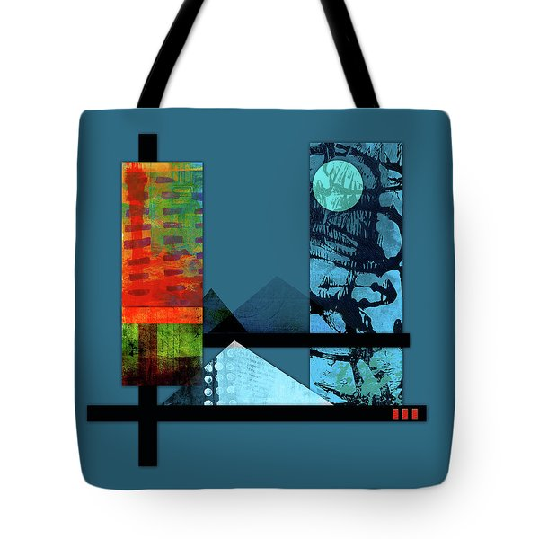 Collage Landscape 1 Tote Bag by Patricia Lintner