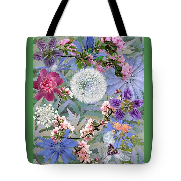 Collage One Tote Bag by John Selmer Sr