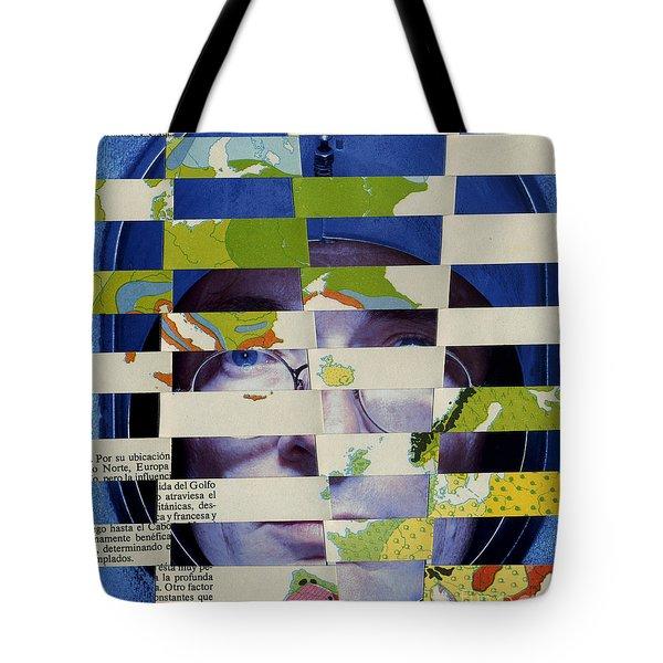 Collage Verso Tote Bag