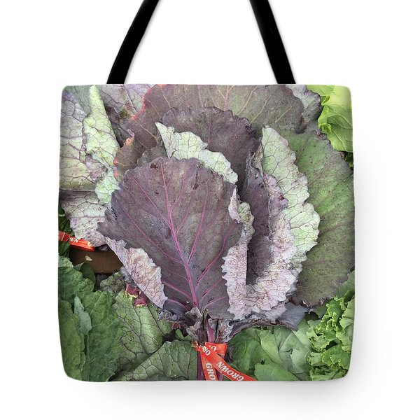 Collard Greens Portland Farmers Market 2015 Tote Bag