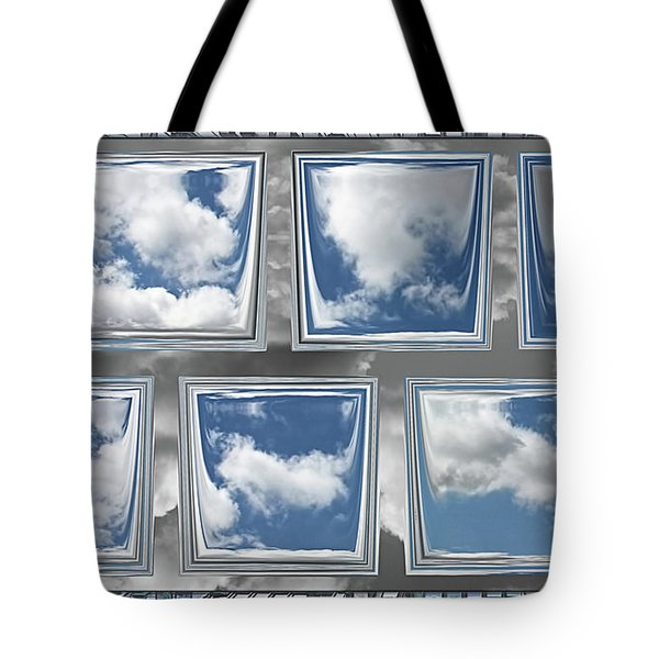 Tote Bag featuring the digital art Collected Spring Mornings by Wendy J St Christopher
