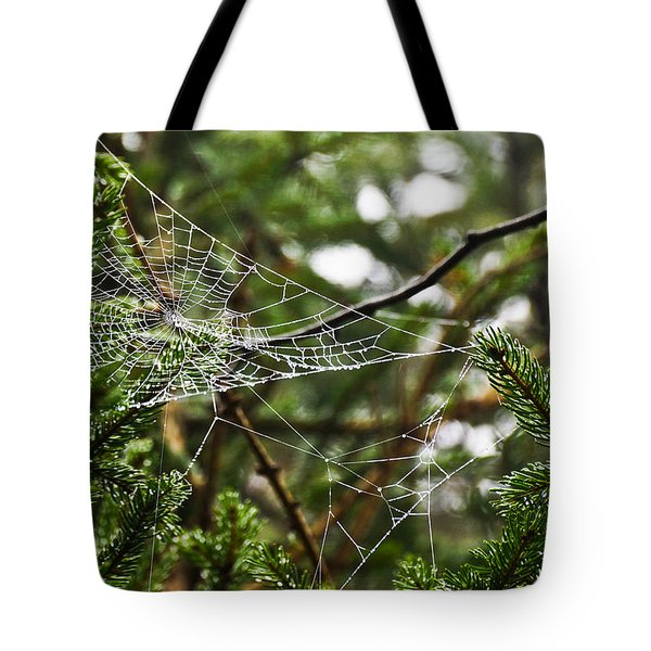 Collecting Raindrops Tote Bag