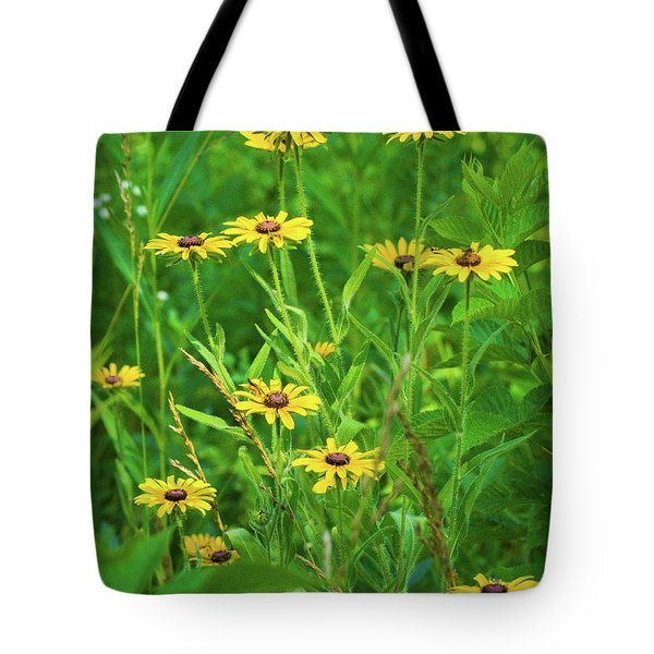Tote Bag featuring the photograph Collection In The Clearing by Bill Pevlor