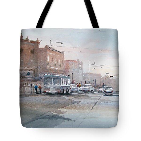 College Avenue - Appleton Tote Bag by Ryan Radke