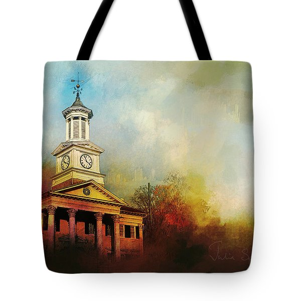 College Colors Tote Bag