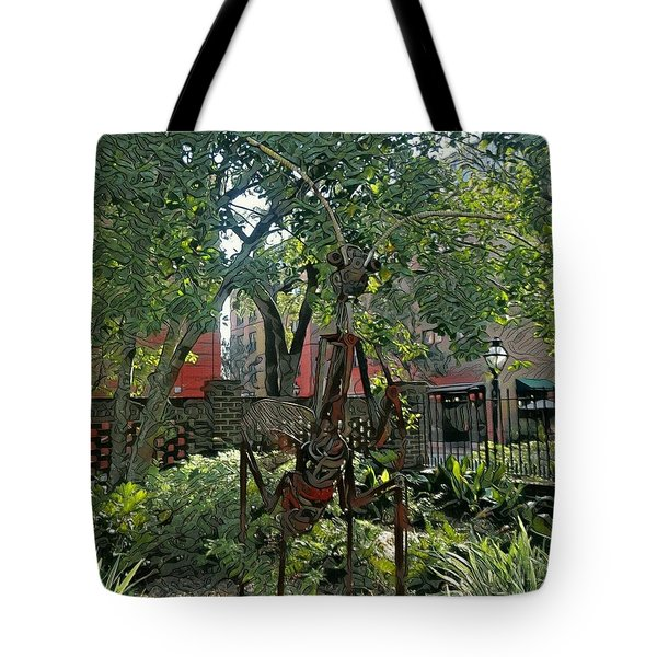 College Creature Tote Bag