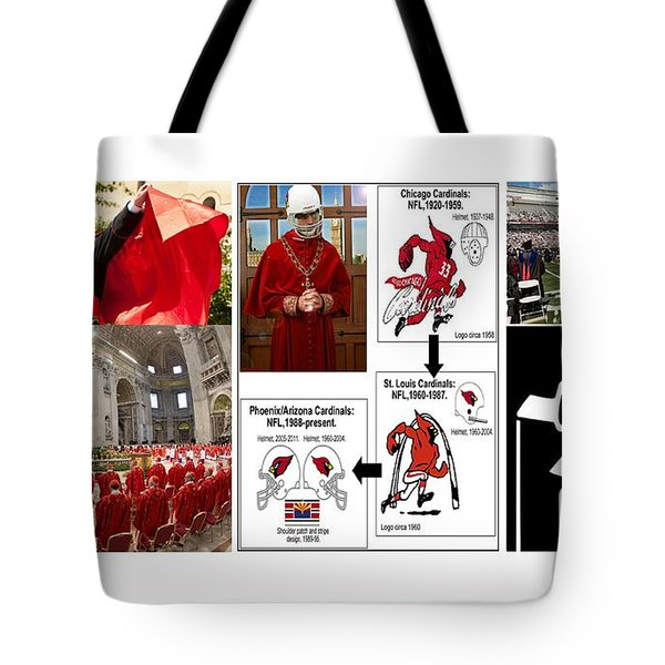 College Of Cardinals Tote Bag