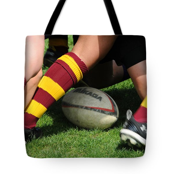 Collegiate Women's Rugby Tote Bag