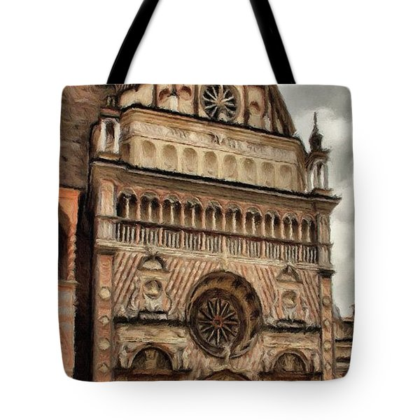 Colleoni Chapel Tote Bag by Jeff Kolker