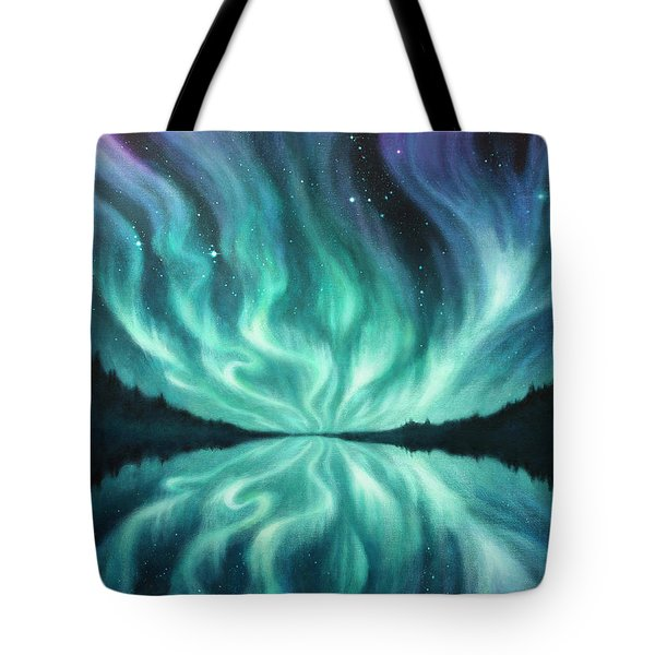 Light Dance Tote Bag