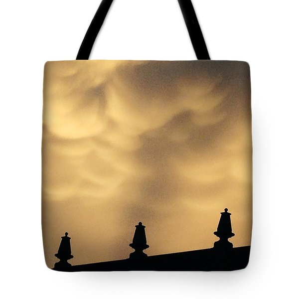 Collides With Beauty Tote Bag