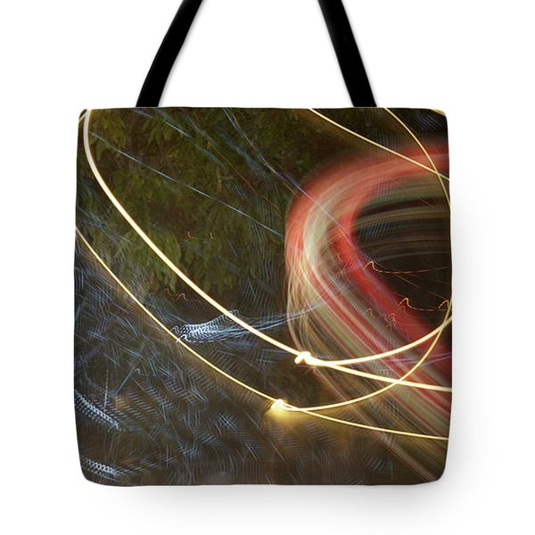 Colliding Worlds  Tote Bag