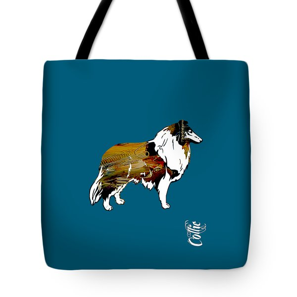 Collie Collection Tote Bag by Marvin Blaine