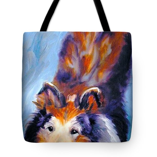 Collie Sable Rough 1 Tote Bag