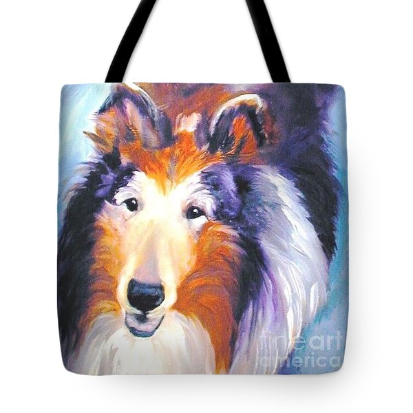 Collie Sable Rough 2 Tote Bag