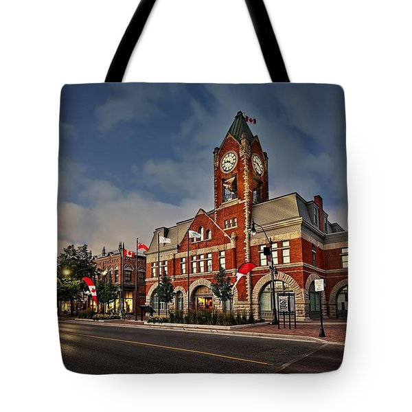 Collingwood Townhall Tote Bag