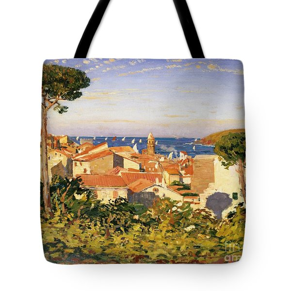 Collioure Tote Bag by James Dickson Innes