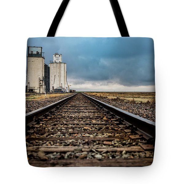 Collyer Tracks Tote Bag by Darren White