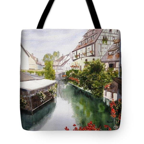 Colmar Canal Tote Bag