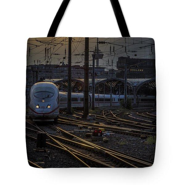 Cologne Central Station Tote Bag