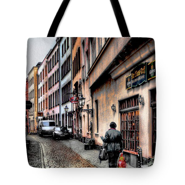 Cologne Alstadt Tote Bag by Jim Hill