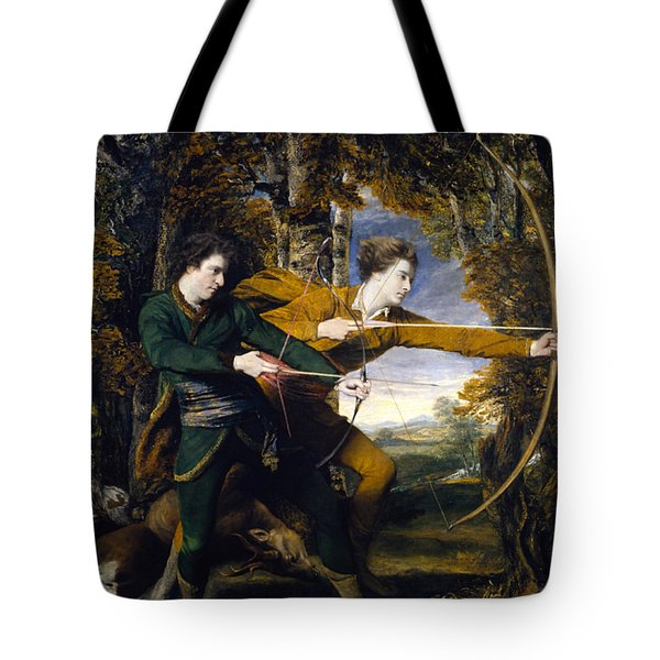 Colonel Acland And Lord Sydney The Archers Tote Bag