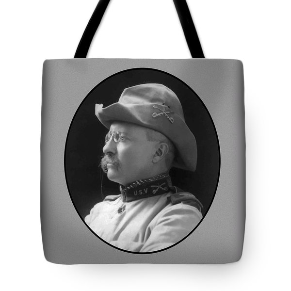 Colonel Roosevelt Tote Bag by War Is Hell Store