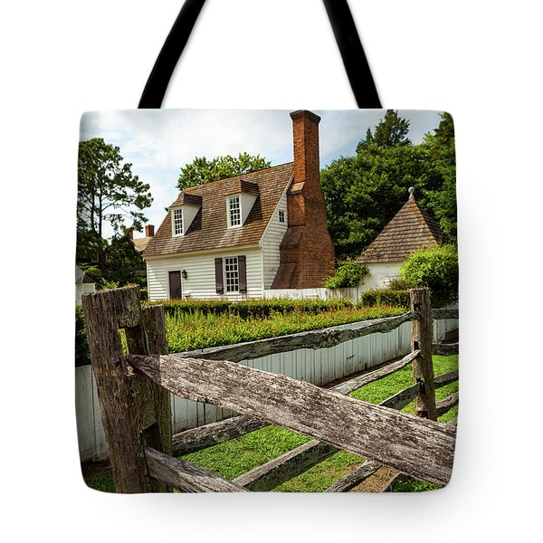 Colonial America Home Tote Bag