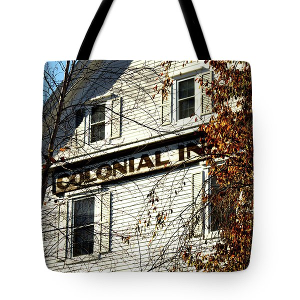 Colonial Inn Tote Bag