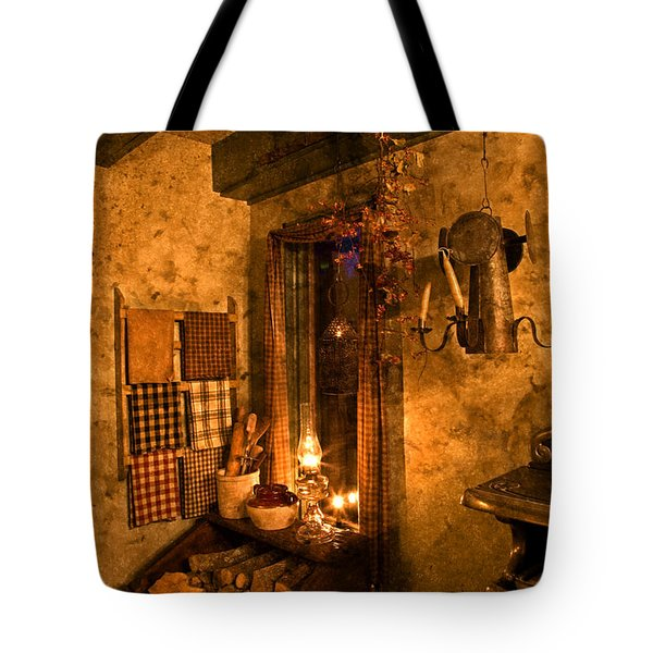Colonial Kitchen Evening Tote Bag
